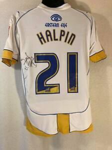 Torquay United 2009-2010 Match Worn & Signed Away Football Shirt - #21 Halpin