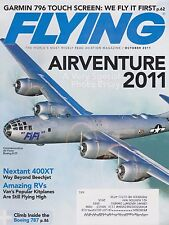 Flying Magazine (October 2011) (AirVenture, Garmin 796, Beech 400XT, Vans RVs)