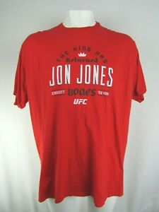 Jon Jones UFC Fanatics Men's Big & Tall T-Shirt