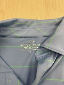 Vineyard Vines Men's Golf Shirt Large