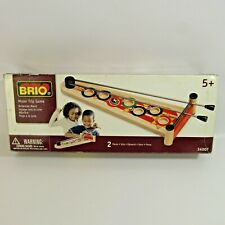 Brio Moon Trip Game Wooden Toy 2005 Skill Contest Rolling Steel Ball