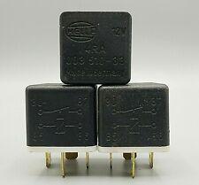 Hella 12V 4 Pin Relay 4 RA 003 510-33 ~ SET OF 3 ~ Fits JAGUAR XJ6 + ~ GERMANY