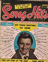 Song Hits Magazine January 1956 Bill Haley Georgie Shaw Frank Sinatra Perry Como