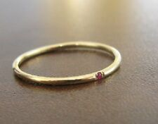 Ruby Ring Yellow Gold Engagement Ring 14k Solid Gold, Gemstone Ring, Statement