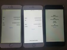 Lots of 3 iPhone 6s+ and 6+ 32GB - Space Gray (unlocked)  Locked