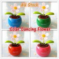 Solar Dancing Flower for Office Desktop Home Interior Decor Solar Power Pot