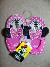 Girl's Disney Minnie Mouse Slippers Size 11/12