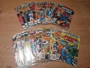 Fantastic Four Vol. 1 :  200 - 225 (1961), average  VFN, US Originale
