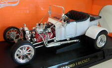 Lucky Diecast 1/18 Scale 92828 - 1923 Ford T-Bucket Roadster - White