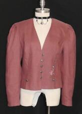 YESSICA / PINK ~ LINEN Women SUMMER Austria EMBR FLOWER Dress Suit JACKET 38 8 S
