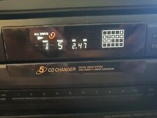 Sony CDP-CE305 5-Disc CD Changer In Great Condition
