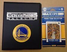 Official 2015-16 Golden State Warriors Team Set 10card Logo Binder Stephen Curry