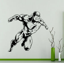 Flash Wall Decal Vinyl Sticker Superhero Comics Art Decoration Home Mural(257su)