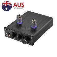 Valve & Vacuum Tube Pre-Amp Stereo HiFi Buffer Audio Preamplifier Treble & Bass