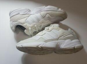 Adidas Mens Trainers UK 10.5 EU 45.5 US 11 White Sneakers ART EE3682 Yung
