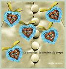 Bloc Feuillet BF33 - Le cœur est le timbre du corps - Christian Lacroix - 2001