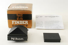 [MINT!] Nikon DE-1 F2 Eye Level Finder Black for F2 camera w/Box From JAPAN #032