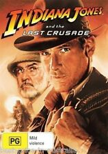 INDIANA JONES And The Last Crusade DVD Movie TOP 1000 MOVIES BRAND NEW SEALED R4