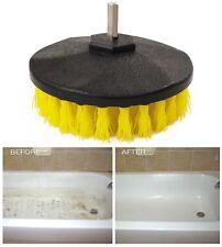 MEDIUM Drill Brush For Car Valeting Tile Grout Bathroom Carpet Metal UPVC Brick