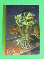 1993 RIPCLAW WIZARD MAGAZINE 2 CHROMIUM PROMO CARD #5 MARC SILVESTRI GOLD!