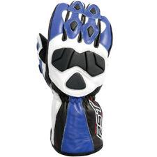 Guantes de cuero para motoristas de hombre en color principal azul