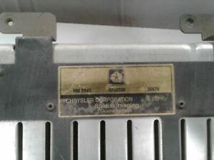 Audio Equipment Radio Receiver Am-fm-cd Player Fits 97-03 DODGE 1500 VAN 1354451