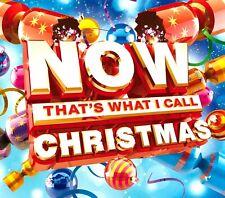 NOW That's What I Call Music CHRISTMAS Triple Gatefold CD 2015 Xmas Festive Musi