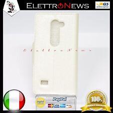 Custodia cover flip orizzontale portafoglio per LG Leon H340