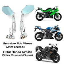 Motorcycle Sport Bike Racing Rearview Mirrors For Honda Kawasaki Suzuki Yamaha