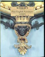 Sothebys Auction Catalog Feb 14 1992 Fine English Furniture