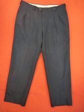 BURBERRYS Pantalon à pinces  Homme Taille 44 / 46 Fr - Laine - bleu foncé