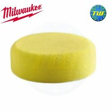 Milwaukee Replacement Yellow Hard Polishing Sponge 80mm for M12 BPS 4932430489