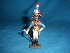 578A Starlux Atlas Figurine Plomb Empire Tambour major 3 Rgt 1/32 Napoleon