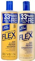 Revlon Flex normal to dry Shampoo & Regular Conditioner 592ml/20oz SET OF 2