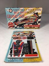 Construct Your Own Grand Prix Race Car, Model, Build, Play, Learn, FREE SHIP