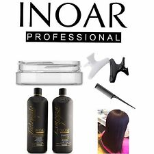 INOAR MOROCCAN BRAZILIAN KERATIN TREATMENT BLOW DRY HAIR STRAIGHTENING 100ML