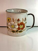 Lunch Mates Spring Culture Collection Coffee Mug Tea Cup Flowers Made in Japan