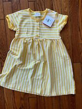NWT Hanna Andersson Play Dress, Size 110 (4-6 y)