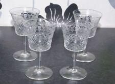 Wine Glass Antique Original Art Nouveau Date-Lined Glass