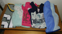 Lot 5 Items 3 T-Shirts 1 Aeropostale Sweater 1 New Danskin Shorts *all size 14