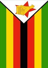 Toland Flag of Zimbabwe 28 x 40 African Nation Country House Flag