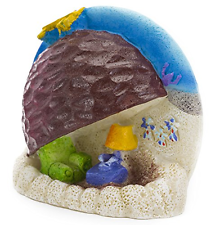 Spongebob Patricks Rock Hogar Ornamento de Acuario Penn Plax Peces Tanque Decoración