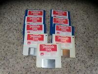 "Lot of 9 Commodore Amiga 3.5"" floppy disks"