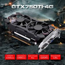 GTX750Ti 4GB GDDR5 128Bit 5400MHz PCI-E Graphics Cards Games Card 3D API Driver