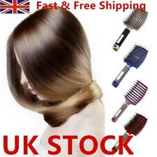 Women Hair Comb Massages Abody Scalp Detangle Hairbrush Nylon Brush Wet Bristle