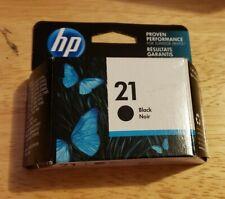 HP 21 Black Ink Cartridge Expired 05/19 printer
