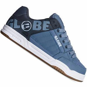 Globe Tilt Herren-Skateschuhe Bleu Marine Split Vintage Chaussures Baskets
