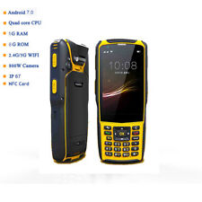 Warehouse Wifi NFC 4G rugged PDA Bluetooth Android Handheld 2D Barcode Scanner