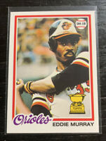 "REPRINT Eddie Murray RC 2019 Topps Iconic Card ICR-86 ""1978 Topps"" Orioles"