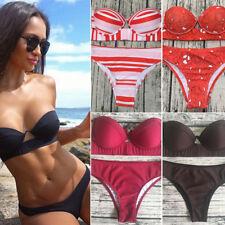 Women's Push Up Bikini Set Swimwear Bathing Suit Swimsuit